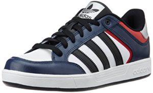 Adidas original men's Varial Low leather skateboarding shoes