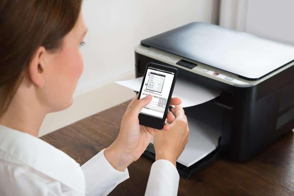 Working of a Wireless Printer