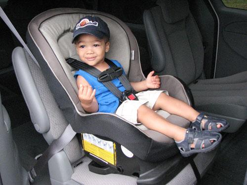 front facing car seat