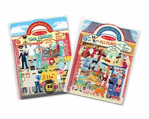 Sticker activity book set