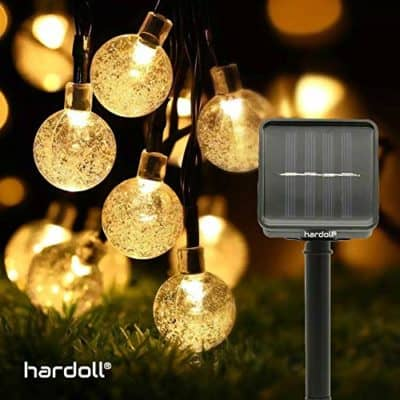 Hardoll 30 LED Decorative Bubble Crystal Ball Solar Light