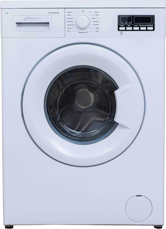 Godrej 6 kg Fully-Automatic Front Loading Washing Machine (WF Eon 600 PAE, White)