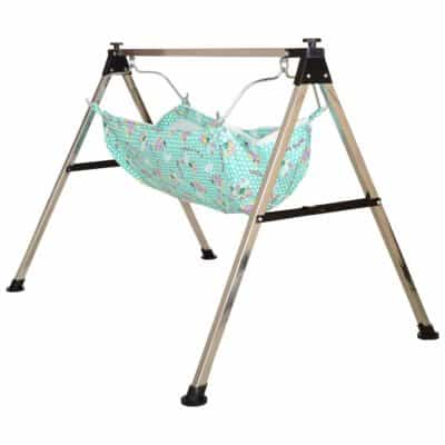 A to Z HUB Baby Boy's and Girl's Portable Folding Swing Cradle