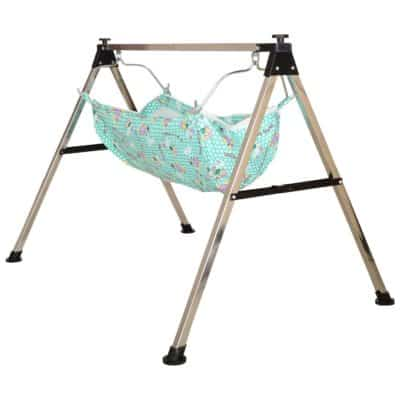 A to Z Hub Baby Boy and Girl Portable Folding Swing Cradle