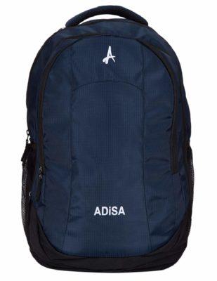 ADISA BPOO5 Navy Blue Light Weight 35 Ltrs Laptop Backpack