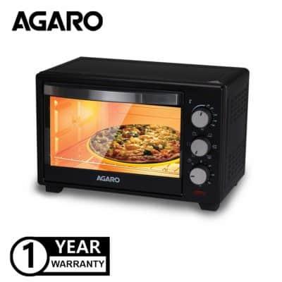 Agaro Marvel Series M19 19-Litre Oven Toaster Griller with Rotisserie (Black)