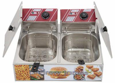 Andrew James Commercial Deep Fryer