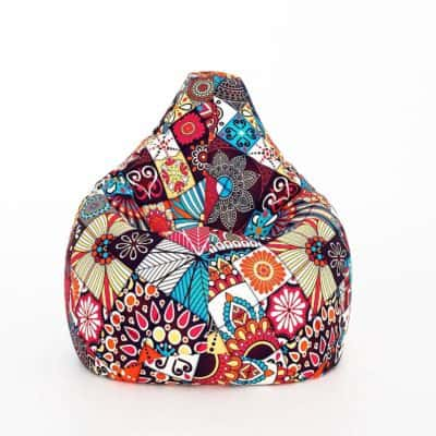 Aart Chrome Classic Canvas Digital Printed Bean Bag Cover Without Beans (3XL)