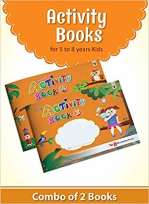 Activity Books for 5 to 8 years' kids