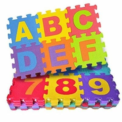 Akrobo Play Mat 36 Tiles Kids Puzzle Mats Foam