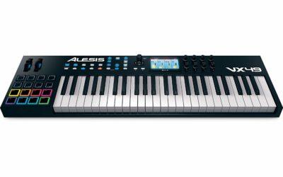 Alesis VX49 49-Key USB MIDI Keyboard and Drum Pad Controller
