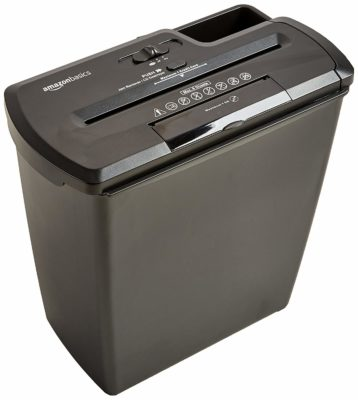 AmazonBasics paper shredder