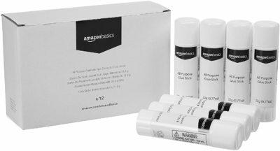AmazonBasics All Purpose Washable Glue Sticks