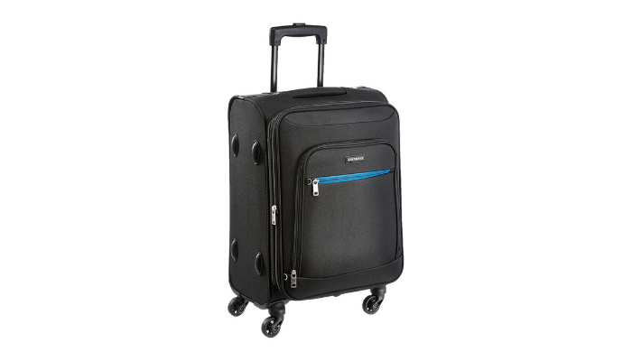 Aristocrat Nile STNILW54BLK Carry On Bag Review 1