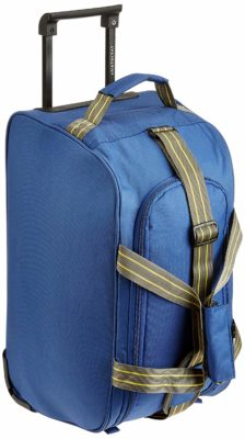 Aristocrat Polyester Blue Travel Duffle