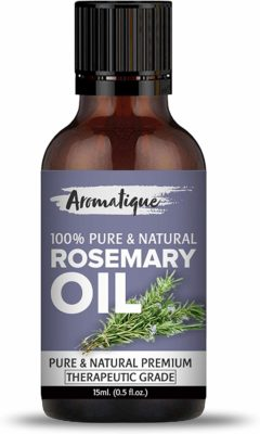 Aromatique Rosemary Essential Oil, (15ml)