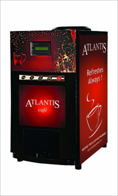 Atlantis Tea and Coffee Vending Machine (2 Lane)