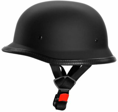 Autokraftz German Style Half Face Helmet