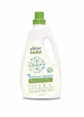 Azafran Home Green and Clean Tropical Breeze Detergent