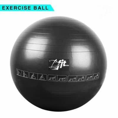 B Fit USA Anti Burst Gym Ball with, Pump