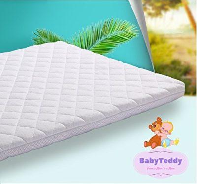 Baby Teddy All Natural Coco Baby Crib Cot Mattress