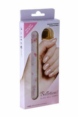 Belletions Korean Glass Nail Shiner 4 in 1Manicure Kit