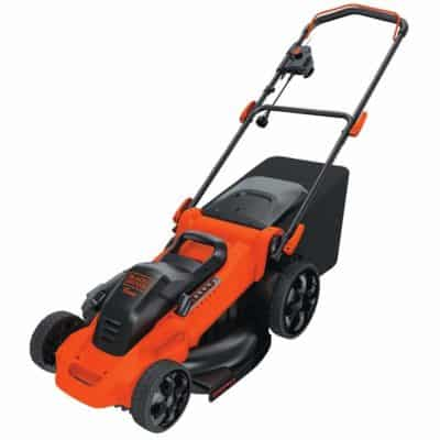 Black and Decker Lawn Mower Corded 20 inch