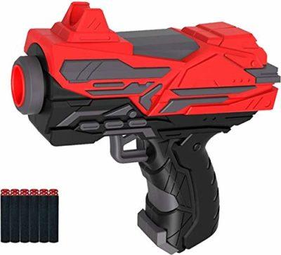 Blaster Soft Foam Bullet Pull Back Action Gun