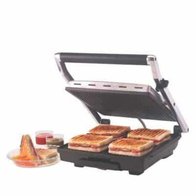 Borosil BGRILLSS23 Sandwich Maker