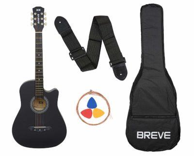Breve BRE-38C-BK Acoustic Guitar