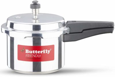 Butterfly Friendly Aluminum Pressure Cooker 3 Liters