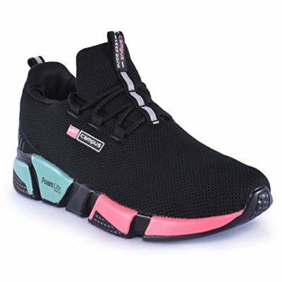 Campus Women's Alexa Blk/Golden Running Shoes