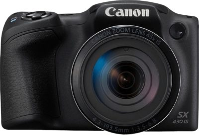 Canon PowerShot SX430B 20MP Digital Camera