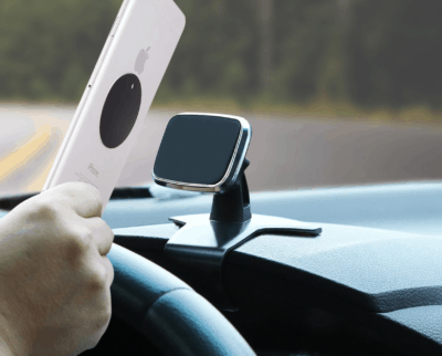 Car Phone Mount, Dashboard Magnetic Cell Phone Mount Holder for Car, YQMAJIM