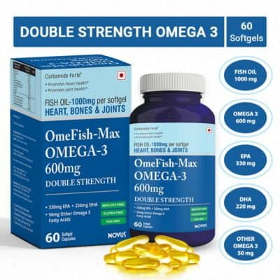 Carbamide Forte Omega 3 Fish Oil Double Strength