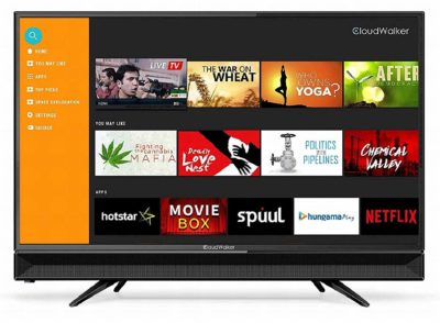 CloudWalker 80 cm (32 Inches) 4K Ready LED Smart TV Cloud TV 32SHX2