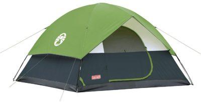 Coleman Sundome Camping Green Tent
