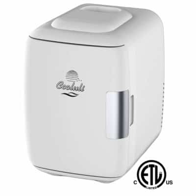 Cooluli 6 Can AC/Dc Portable Thermoelectric System Mini Fridge