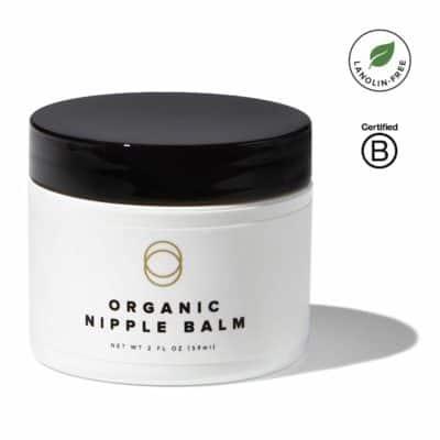 Cora Organic Lanolin Free Baby Safe Nipple Cream