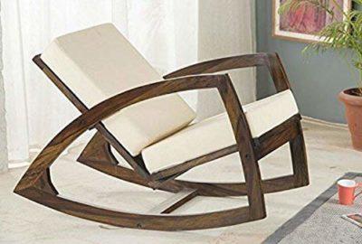 Corazzin Sheesham Wood Rocking Chair