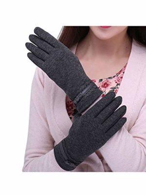 Coxeer Women Winter Gloves