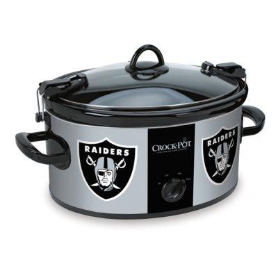 Crock-Pot SCCPNFL600-OR Oakland Raiders Cook & Carry Slow Cooker