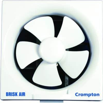 Crompton Brisk Air 200 mm Exhaust Fan (White)