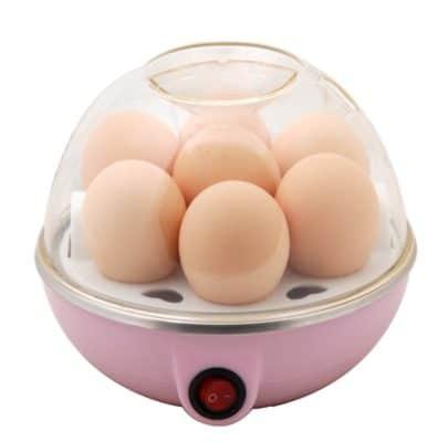 CurioCity EGG POACH-1 Compact Stylish Electric Egg Cooker( Multicolor)