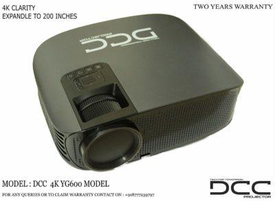 DCC 4K LED Projector UHD