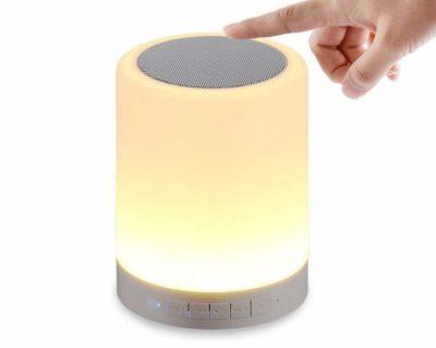 DEVCOOL Touch Lamp Bluetooth Speaker
