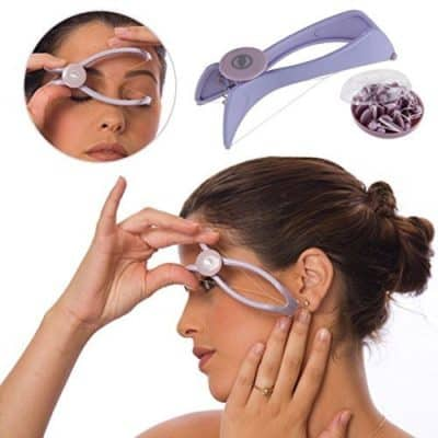 DSML Women's Eyebrow Face and Body Hair Threading and Removal System