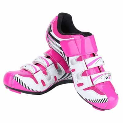 Dilwe Cycling shoe, one pair women cycling spinning shoes