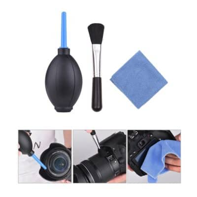 Docooler 3 in 1 Dust Cleaner Camera Cleaning Kit