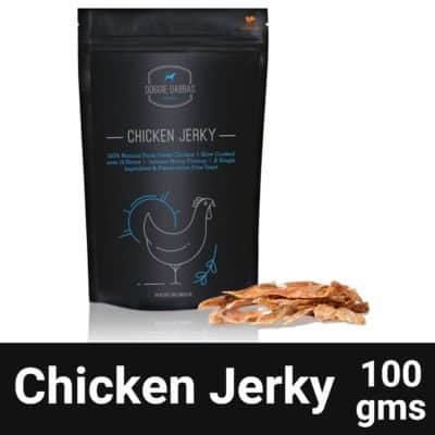 Petsutra Doggie Dabbas Chicken Jerky Dog Treat